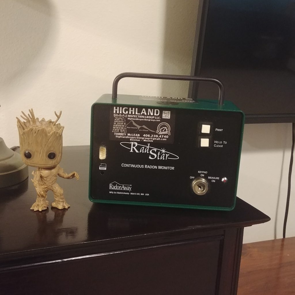 Radon Testing Equipment Used by Professionals